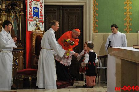 Powitanie księdza kardynała