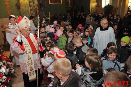 Msza św. godz. 11.00 - błogosławieństwo dla dzieci i rodzin