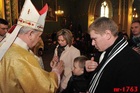 Msza św. godz. 12.30 - błogosławieństwo dla rodzin cz. 1