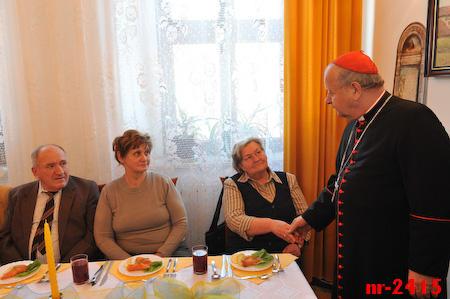 Spotkanie z rodzinami księży i kleryków